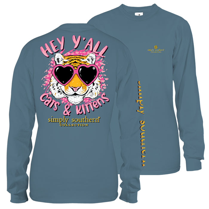 Simply Southern Kitten Long Sleeve T-Shirt