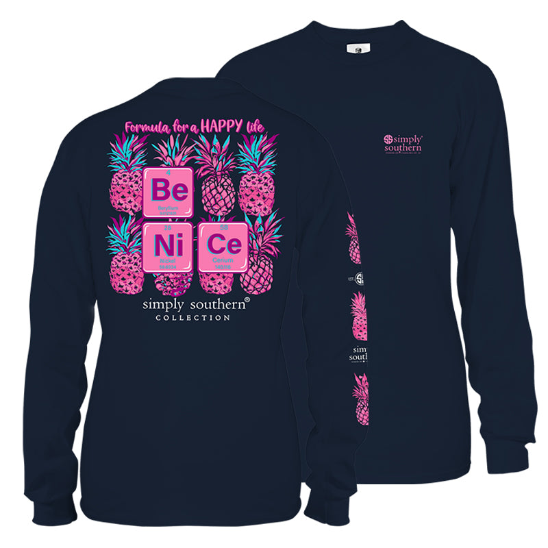 Simply Southern Nice Long Sleeve T-Shirt