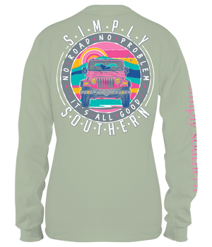 Simply Southern No Road Long Sleeve Tee