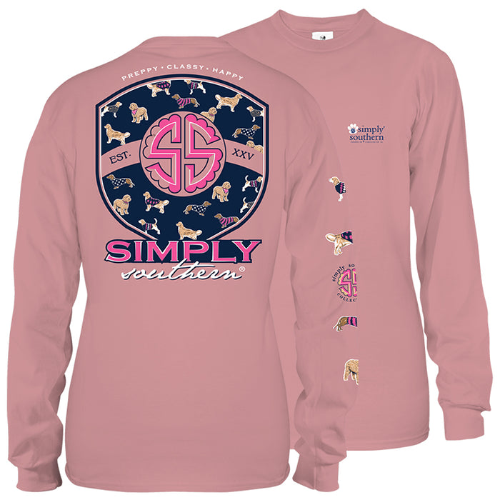 Simply Southern Pup Logo Long Sleeve T-Shirt