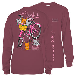 Simply Southern Purrfect Long Sleeve T-Shirt