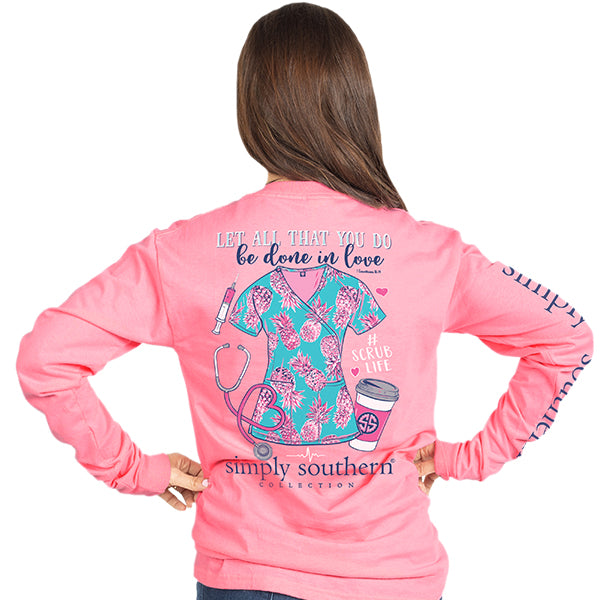 Simply Southern Scrub Long Sleeve T-Shirt