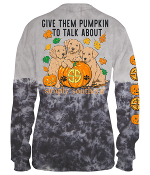 Simply Southern Pumpkin to Talk About Long Sleeve Tee