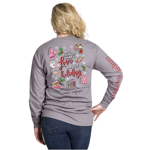 Simply Southern Christmas Faves Long Sleeve T-Shirt