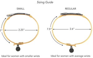 Luca and Danni Bracelet Sizing