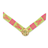 Lindsay Phillips Pink & Green Nautical Lanni Strap