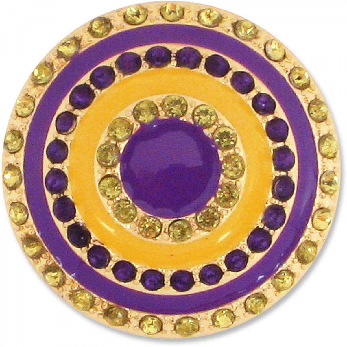 Lindsay Phillips Purple and Gold Snap