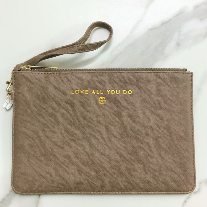 Simply Southern Love All You Do Vegan Leather Clutch