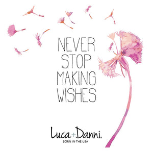 Luca + Danni Make a Wish Dandelion Design
