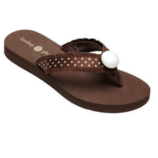 Lindsay Phillips Lulu Flip Flop Brown