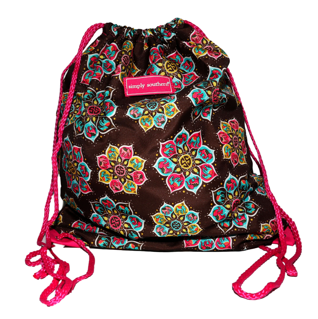 Simply Southern Mandala Drawstring Backpack