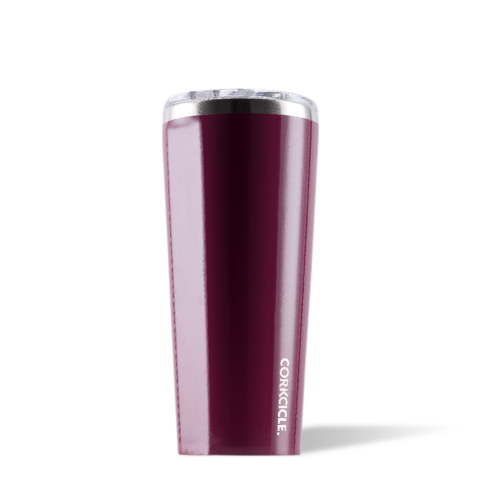 Gloss Merlot 24oz Corkcicle Tumbler