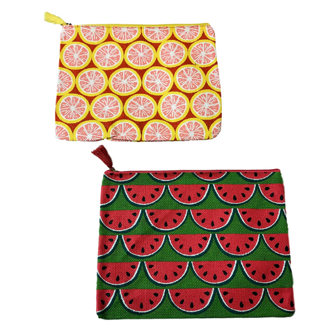 Mudpie Jute Summer Fruit Case