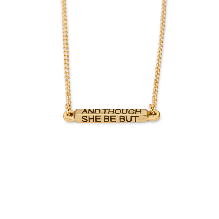 She is Fierce Necklace - Luca + Danni