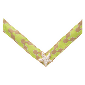 Lindsay Phillips Lime Green & Tan Nellie Strap