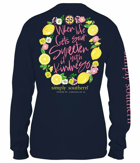 Simply Southern Sour Long Sleeve T-Shirt