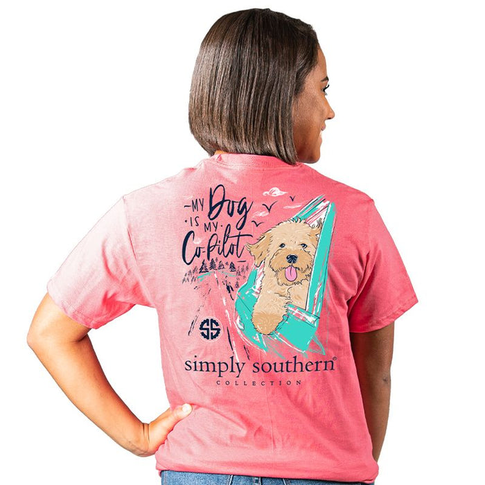 Simply Southern Dog Co-pilot T-Shirt