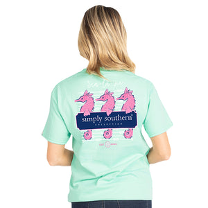 Simply Southern Preppy Seahorse T-Shirt