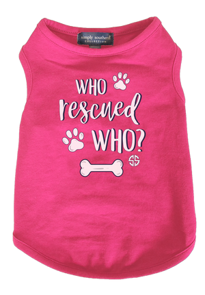 Simply Southern Rescued Puppy Shirt