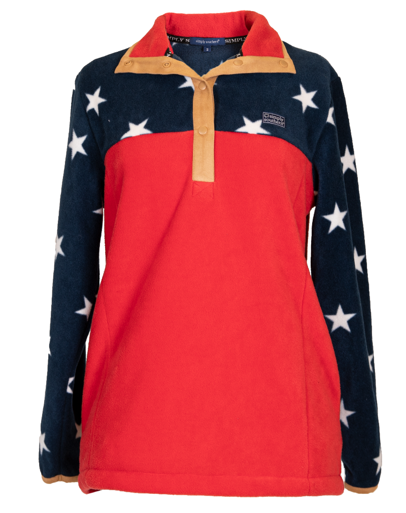 Simply Southern Simply Fleece-Stars