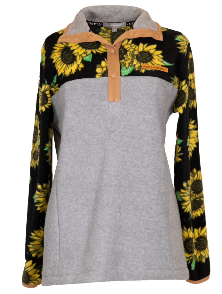 Simply Southern Simply Fleece-Sunflower