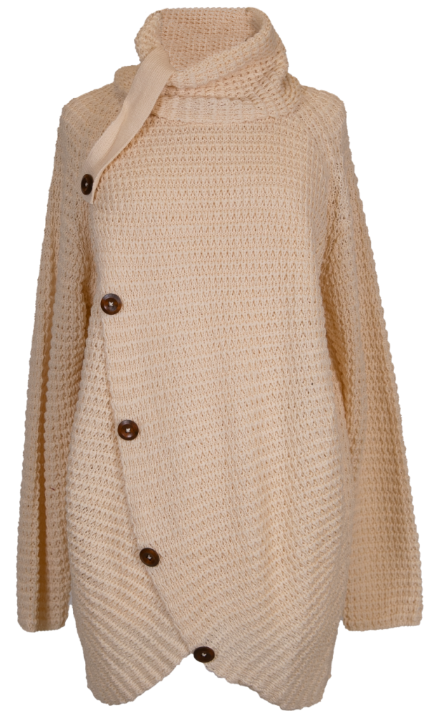 Simply Southern Overlap Sweater-Cream