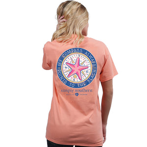 Simply Southern Preppy Compass T-Shirt