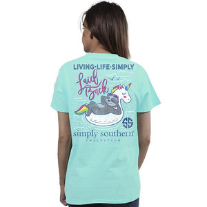 Simply Southern Laid Back Sloth T-shirt