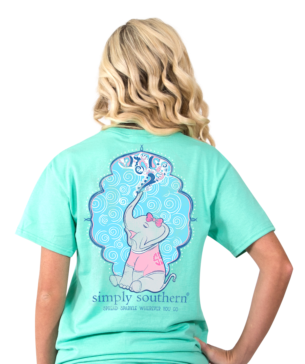 Simply Southern Preppy Spread T Shirt Blooming Boutique