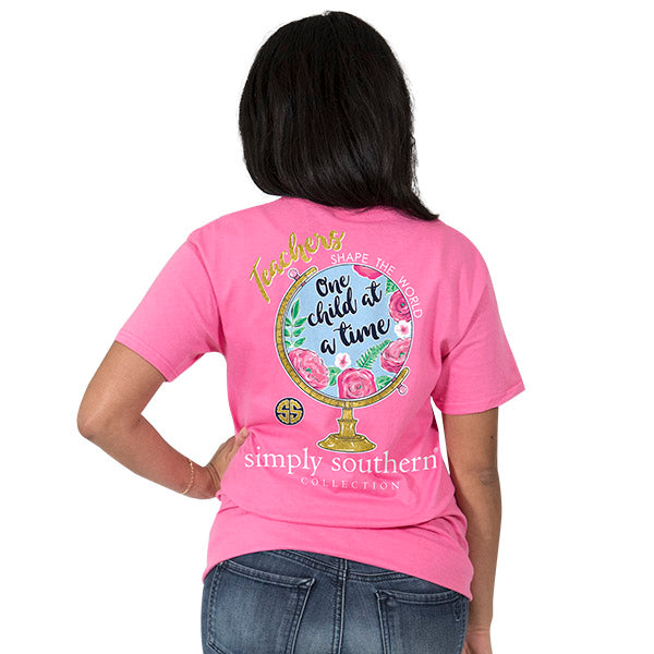 Simply Southern Preppy Teacher T-shirt