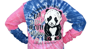 Simply Southern Panda Taffy Long Sleeve T-Shirt