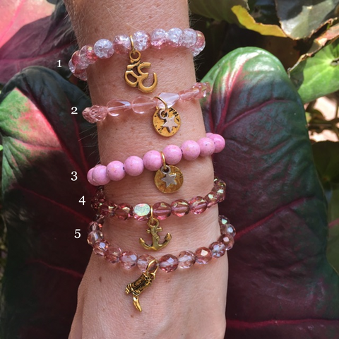 Dr. Susan Love Research Foundation Pink chavez for charity bracelets