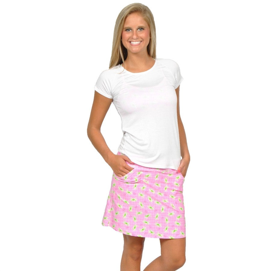 Preppy Crab Fairway Skort