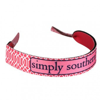 Simply Southern pink vine retainer