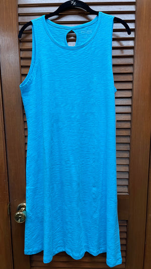 Escape Tank Dress-Blue