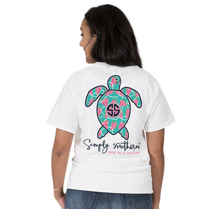 Simply Southern Watermelon Turtle short sleeve t