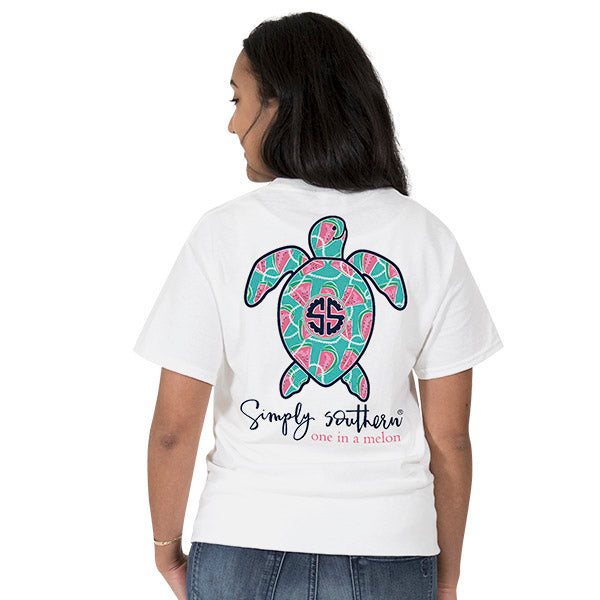 Simply Southern Watermelon Turtle T-shirt