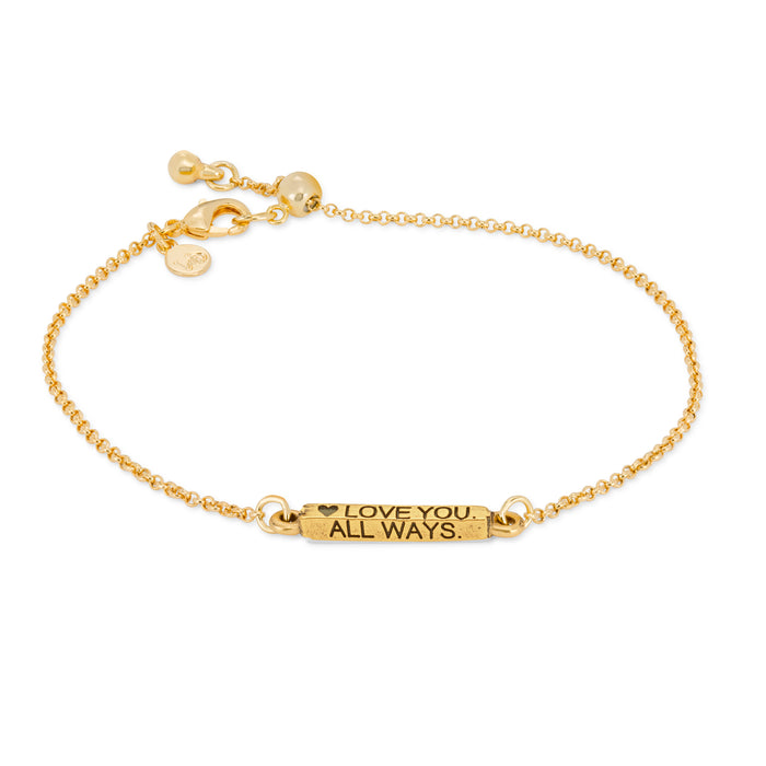 Always Slider Bracelet - Luca + Danni