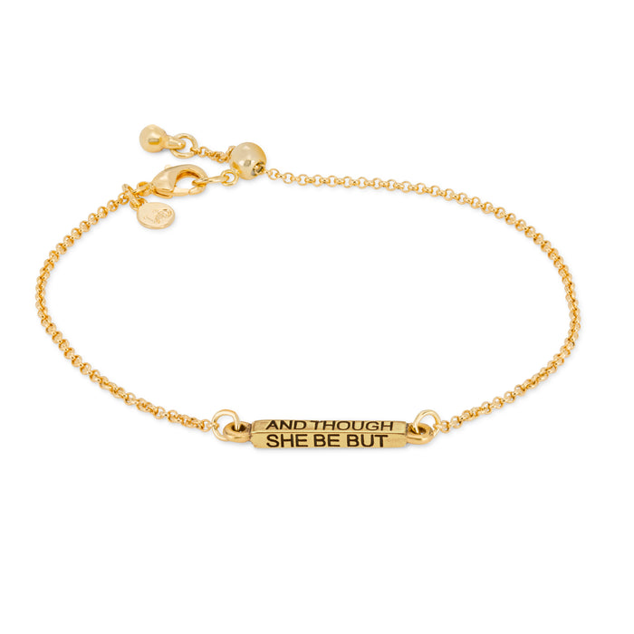 She is Fierce Slider Bracelet - Luca + Danni
