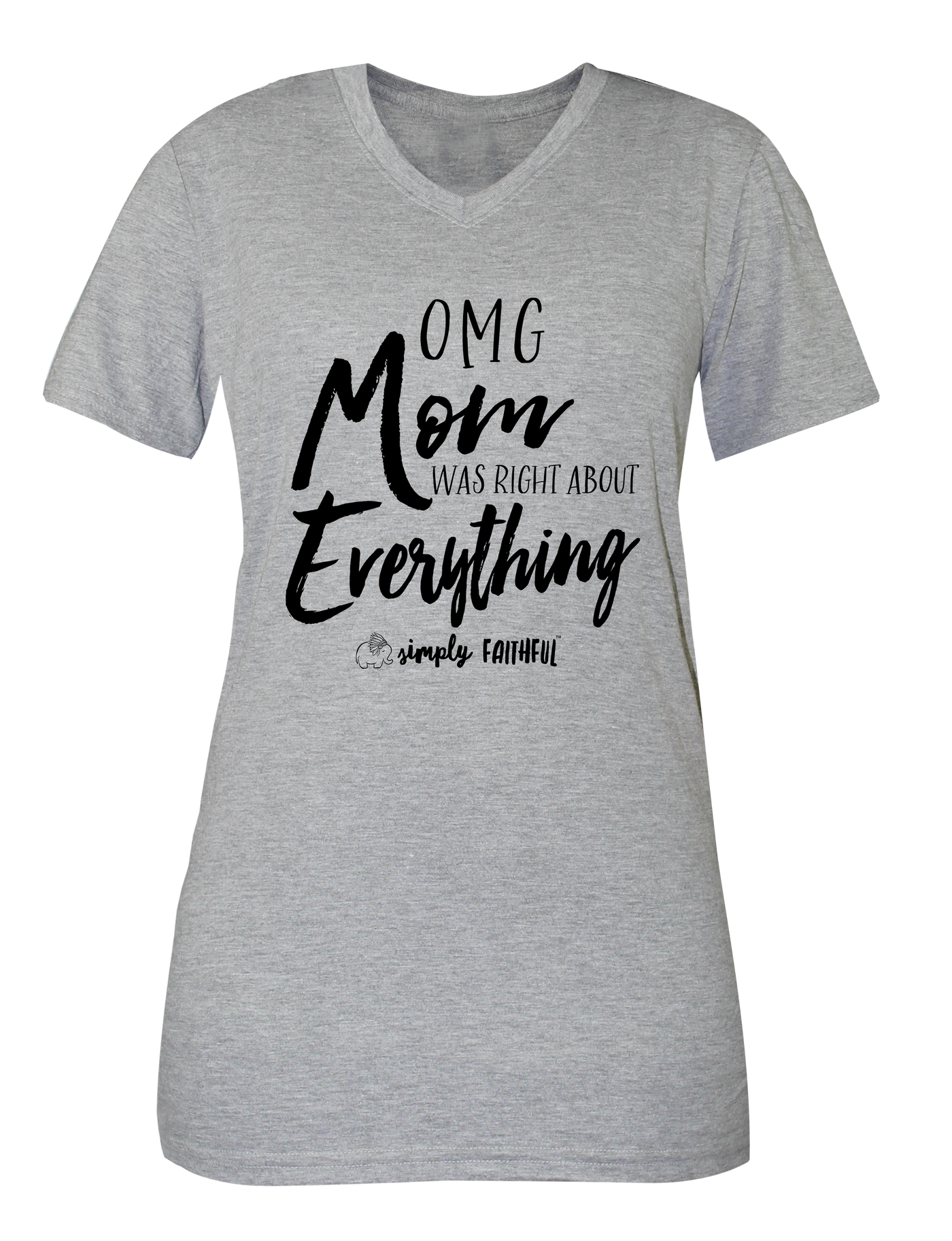new appearance best quality incredible prices Simply Faithful Mom Life T-Shirt