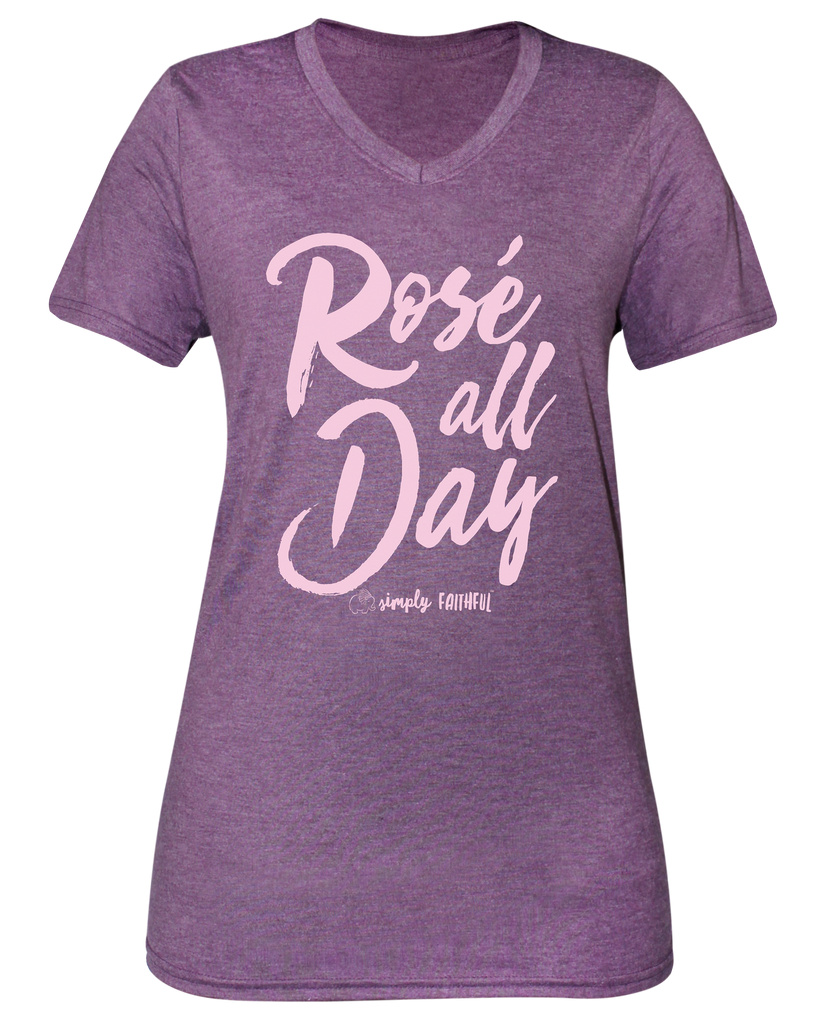 Simply Faithful Rose All Day T-shirt
