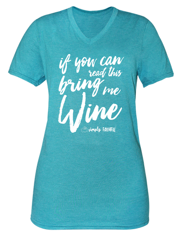 Simply Faithful Wine T-shirt