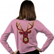 Simply Southern Buck SHORTIE Long Sleeve T-Shirt