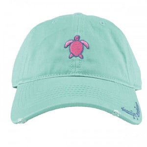 Simply Southern Distressed Turtle Hat