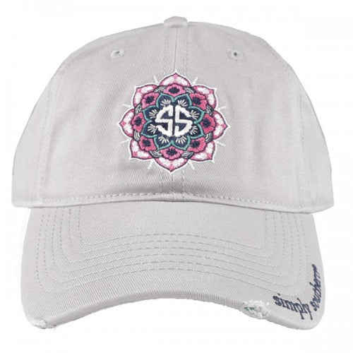 e7396acc7ee7f Simply Southern Distressed Mandala Hat – Blooming Boutique
