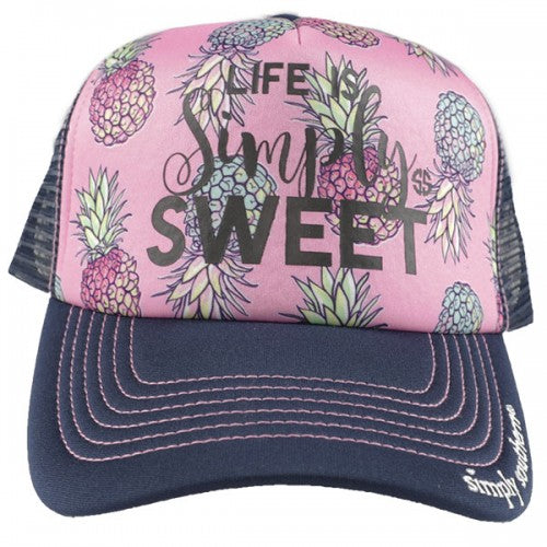 1e85dff3fa3de Simply Southern Distressed Simply Sweet Hat – Blooming Boutique