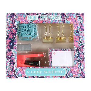 Simply Southern Pineapple Stationary Set