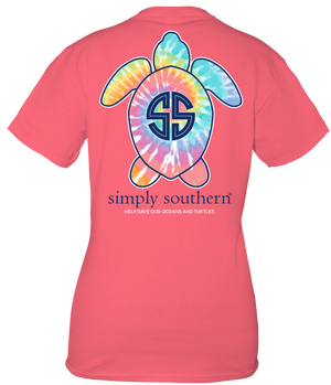 Simply Southern Save the Turtles Multicolor Tee