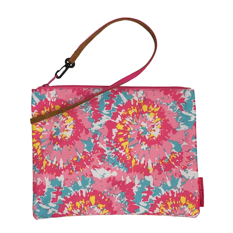 Simply Southern Tie Dye Brush Bag