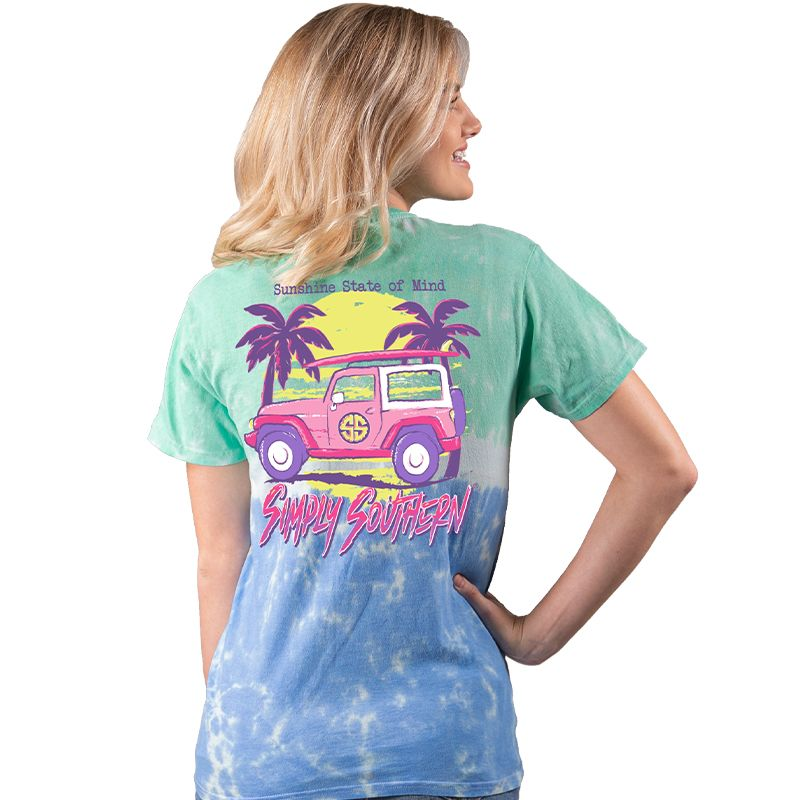 Simply Southern Sunshine Jeep T-Shirt